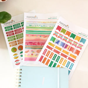 Sweet Carnival Planner Stickers