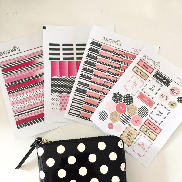 Posh Love Planner Stickers