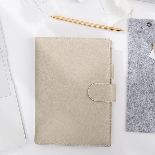 Moterm A5 Light Gray Cover with Notebook