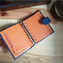 Load image into Gallery viewer, Moterm Leather Planner Pocket/Personal/A6/A5