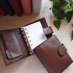 Moterm Leather Planner Pocket/Personal/A6/A5