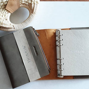 A5, B6 THINKIN' Leather Journal
