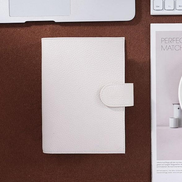 Moterm Personal White Leather Planner