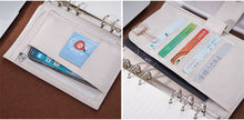 Load image into Gallery viewer, Moterm Personal White Leather Planner