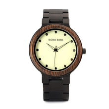 Andres Dark Wood Watch