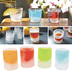 Cool Ice Shot Glass Mould