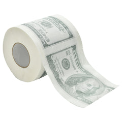 Funny $100 Printed Toilet Paper