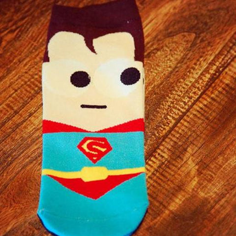 Image of Unisex Hip Hop Superheroes Socks