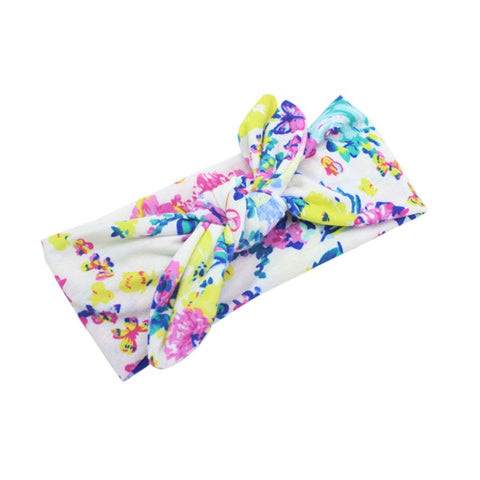 Image of Baby Girl Floral Head Wraps