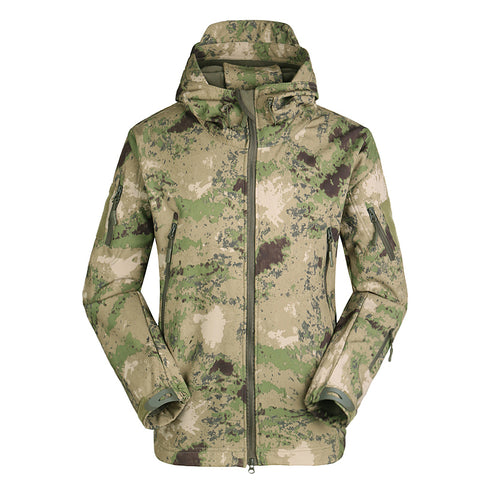 Shark Skin Waterproof Military Jacket