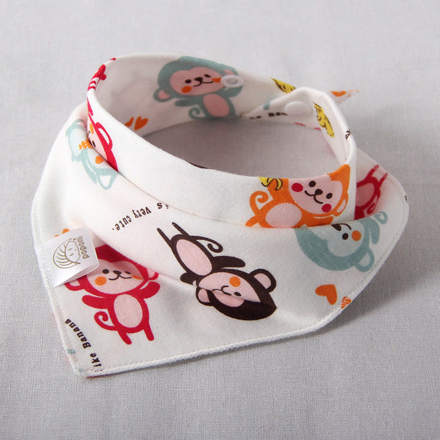 Double layer Cotton Baby Bibs