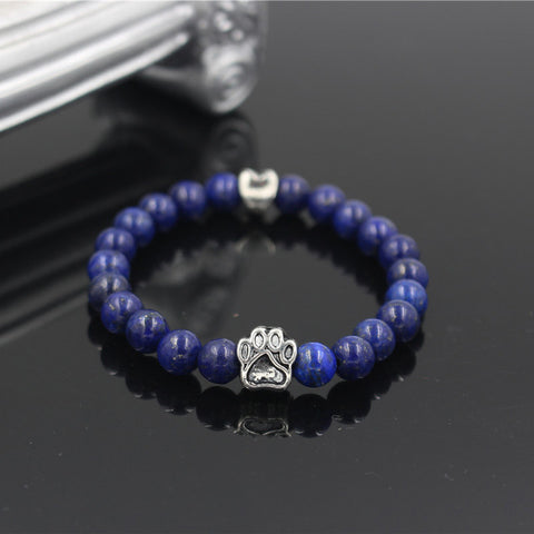 Image of Natural Stone Bead Bracelet