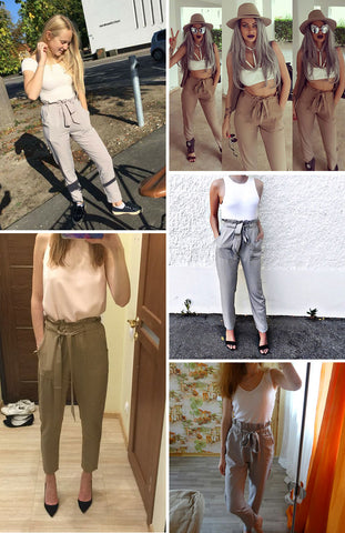 Image of Stylish High Waist Pants