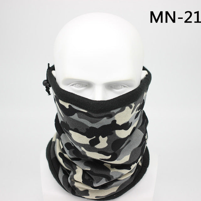Seamless Tubular Warm Scarf