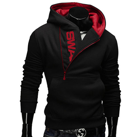 Image of Casual Slim Men Zipper