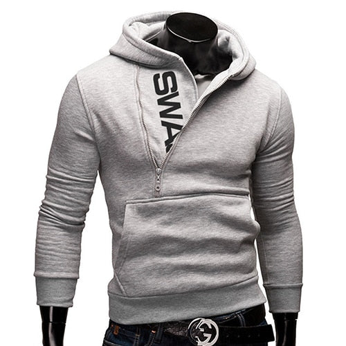 Casual Slim Men Zipper