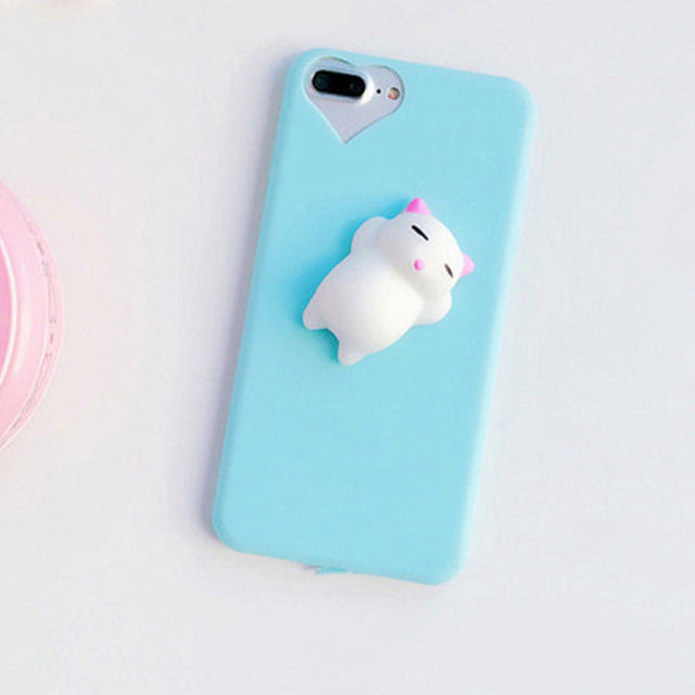 Meow iPhone Squishy Case