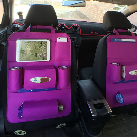 Image of Car Backseat Multi-Pocket Organizer