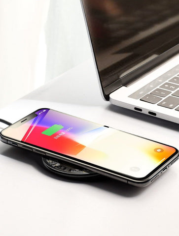 Wireless Qi Phone Charger for iPhone X/XS Max XR 8 Plus Samsung S8 S9/S9+ Note 9