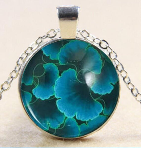 Image of Plant Glass Pendant