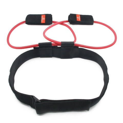 Image of Fitness Women Booty Butt Resistance Band with Adjustable Waist Belt