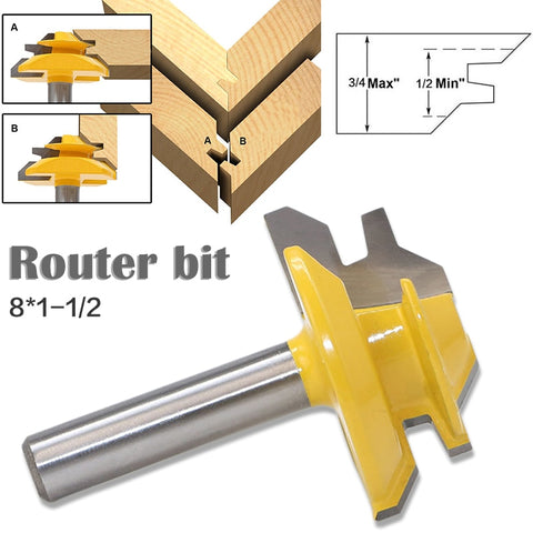Image of 45 Degree Lock Miter Router Bit