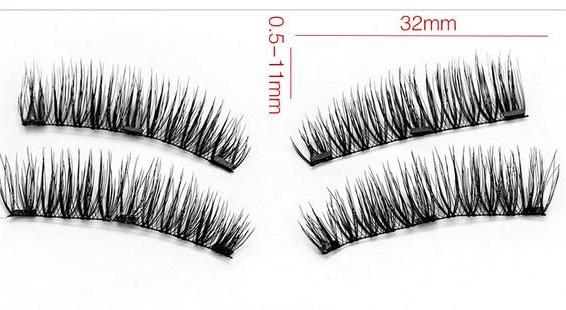 Invisible Magnetic False Eyelashes