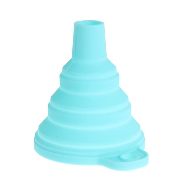 Mini Silicone Foldable Funnels