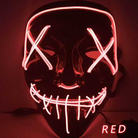 Image of Glow In Dark LED Party Mask