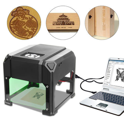 Image of Desktop Laser Engraving Machine