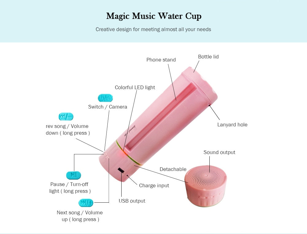 Smart Music Cup