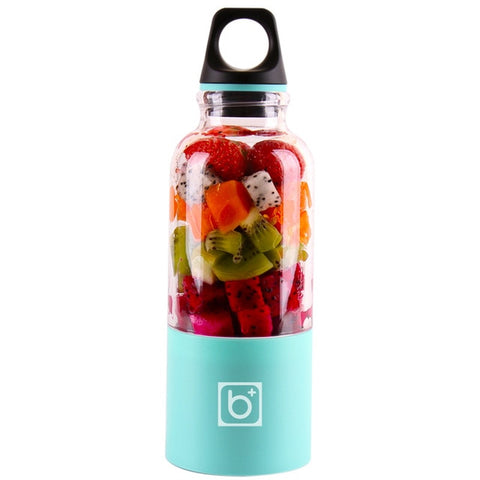 Image of 500ml USB Rechargeable Portable Juicer Bottle