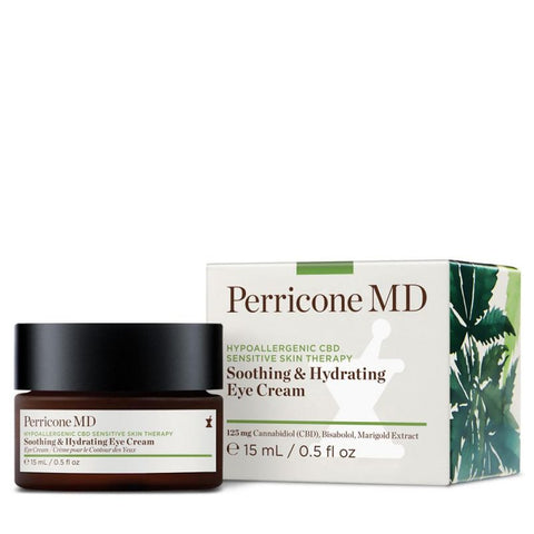 Perricone Hypoallergenic CBD Soothing & Hydrating Eye Cream - Contorno de Ojos 15ml