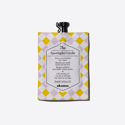 Davines The Spotlight Circle - Mascarilla de Brillo Extraordinario 50ml