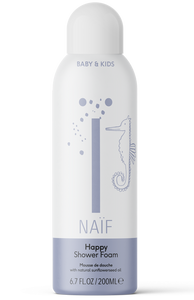 Naif Happy Shower Foam - Espuma de Baño y Ducha 200ml