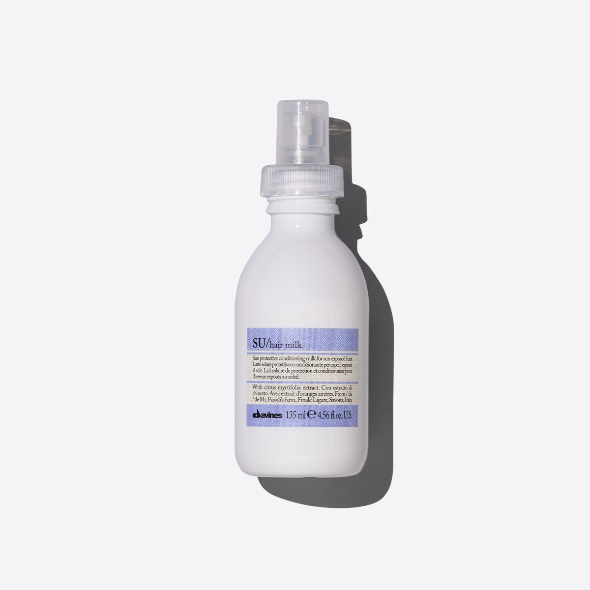 Davines SU Hair Milk - Crema en Spray para Cabello 135ml