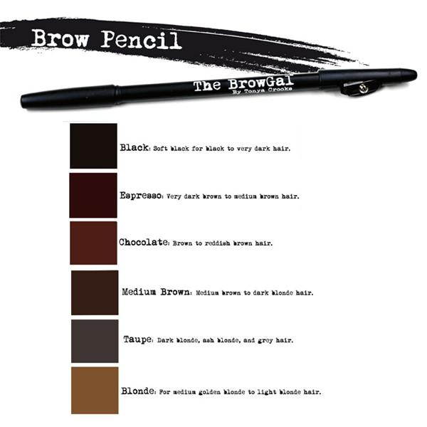The Browgal The Brow Pencil - Lápiz de Cejas + Tonos