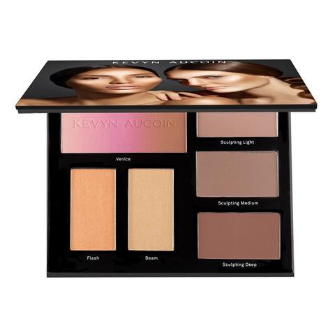 Kevyn Aucoin The Contour Book - The Art Of Sculpting & Defining Vol III- Paleta de Contorno