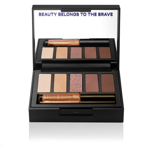 Kevyn Aucoin The Emphasize Eye Design Palette Focused - Paleta Sombras Ojos