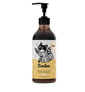 Yope Linden Natural Liquid Soap con TGA Formula 500ml