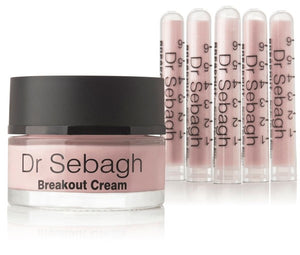 Dr. Sebagh Breakout Powder and Cream - Crema 50ml y Polvos 5x1,95gr