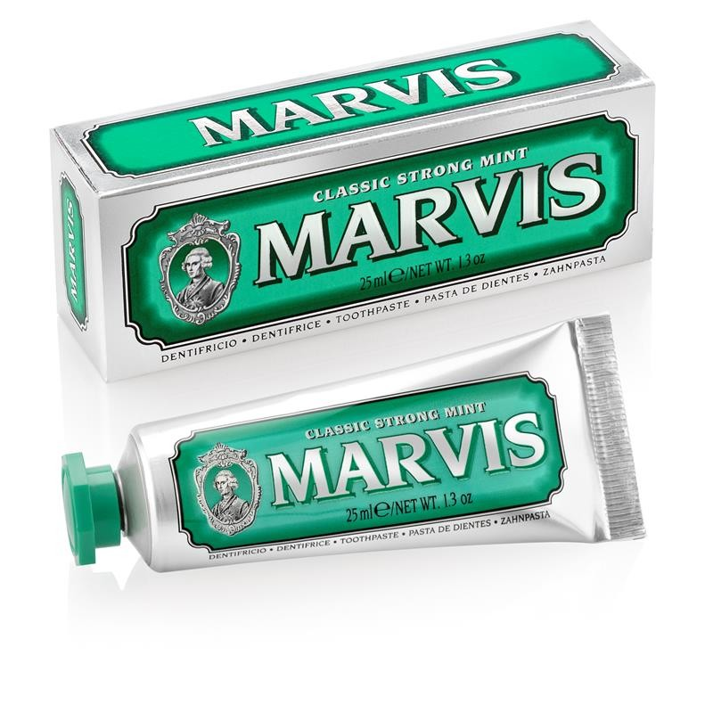 Marvis Classic Strong Mint - Dentrífico 25 ml