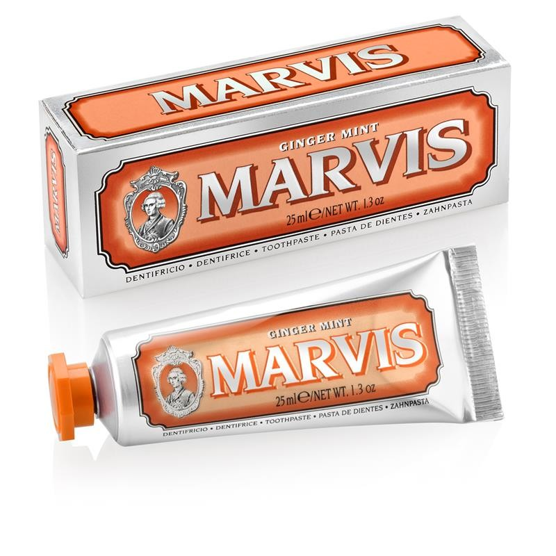 Marvis Ginger Mint - Dentrífico 25 ml