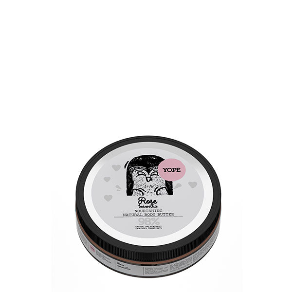 Yope Rose & Boswellia Body Butter - Manteca Corporal 200ml
