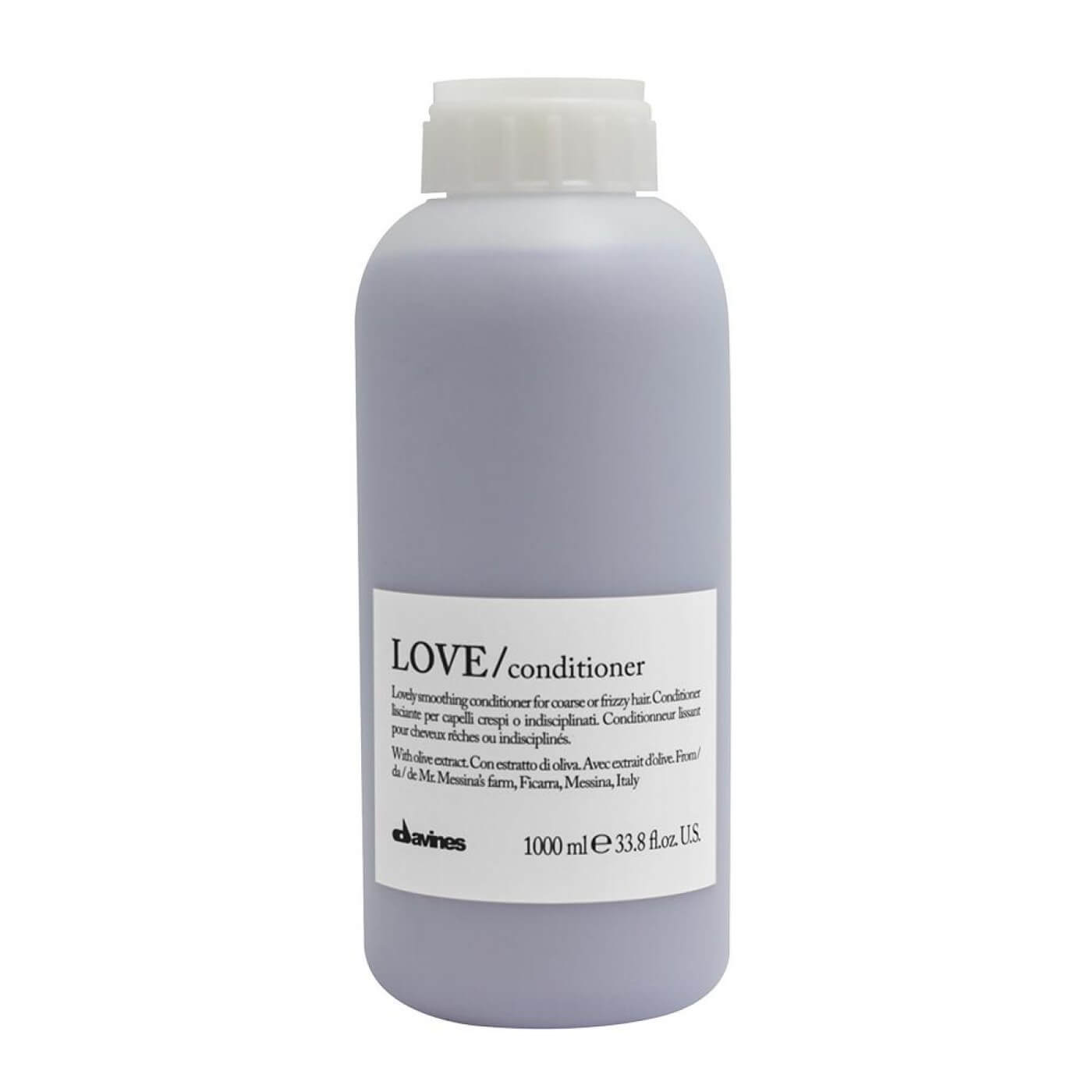 Davines LOVE Smoothing Conditioner - Acondicionador Disciplinante Litro