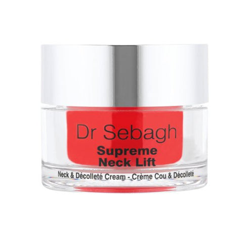 Dr. Sebagh Supreme Neck Lift - Crema para Cuello y Escote 50ml