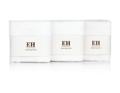 Emma Hardie Dual Action Professional Cleansing Cloths - Muselinas 3u.