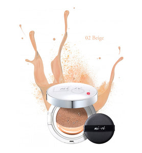 MI-RE - Maquillaje Cushion Beig 19gr
