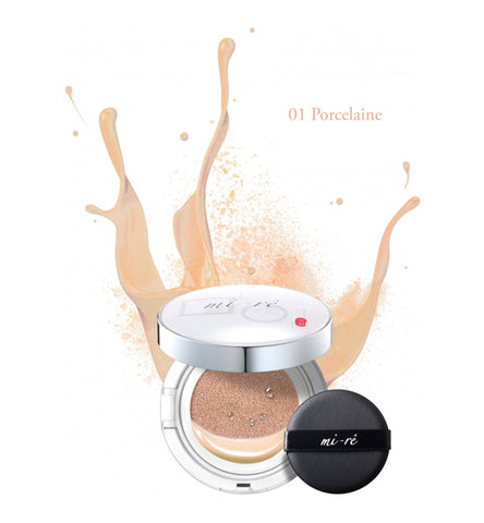 Mi-Re Maquillaje Cushion Porcelaine 01 19gr