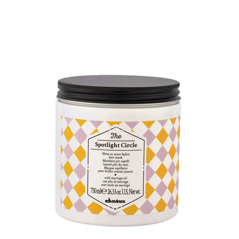 Davines The Spotlight Circle - Mascarilla de Brillo Extraordinario 750ml